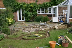 Autumn green curve before