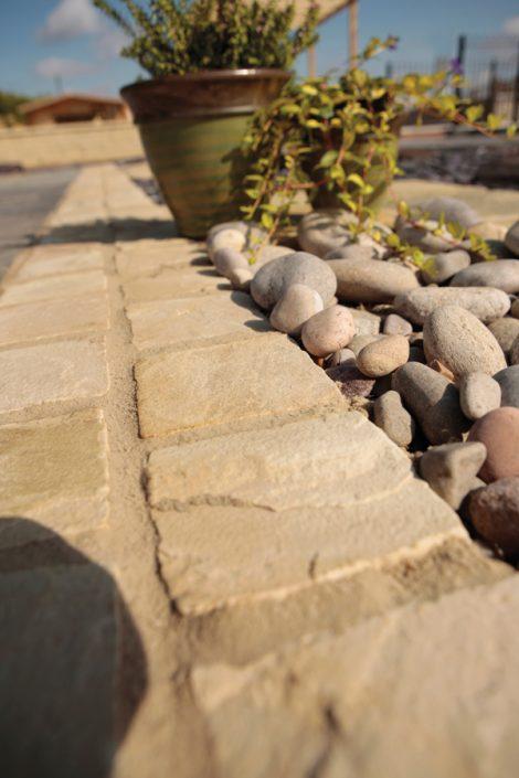 Natural Sandstone Setts