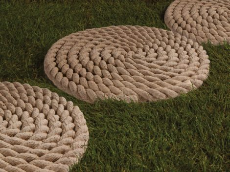 rope stepping stones