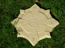 compass stepping stones